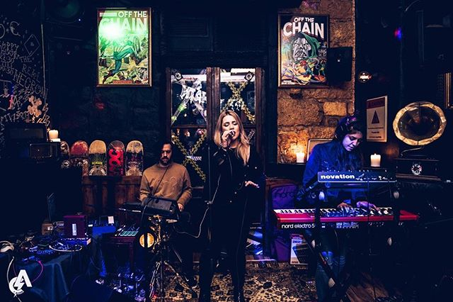 Project UnCut live at @off_the_chain_athens . . . Click by @c.alossi 💗📸
