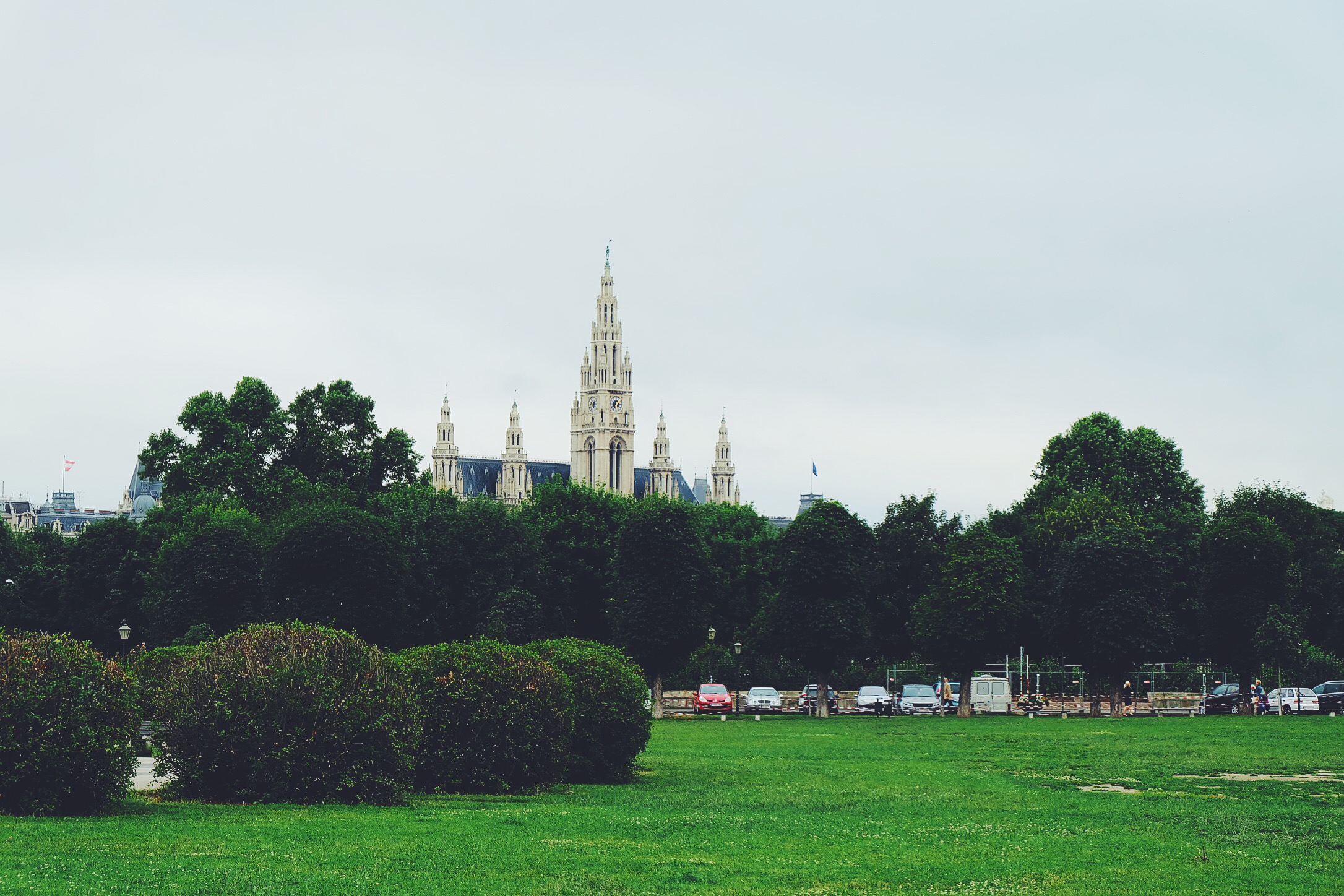 Rathaus from a distance