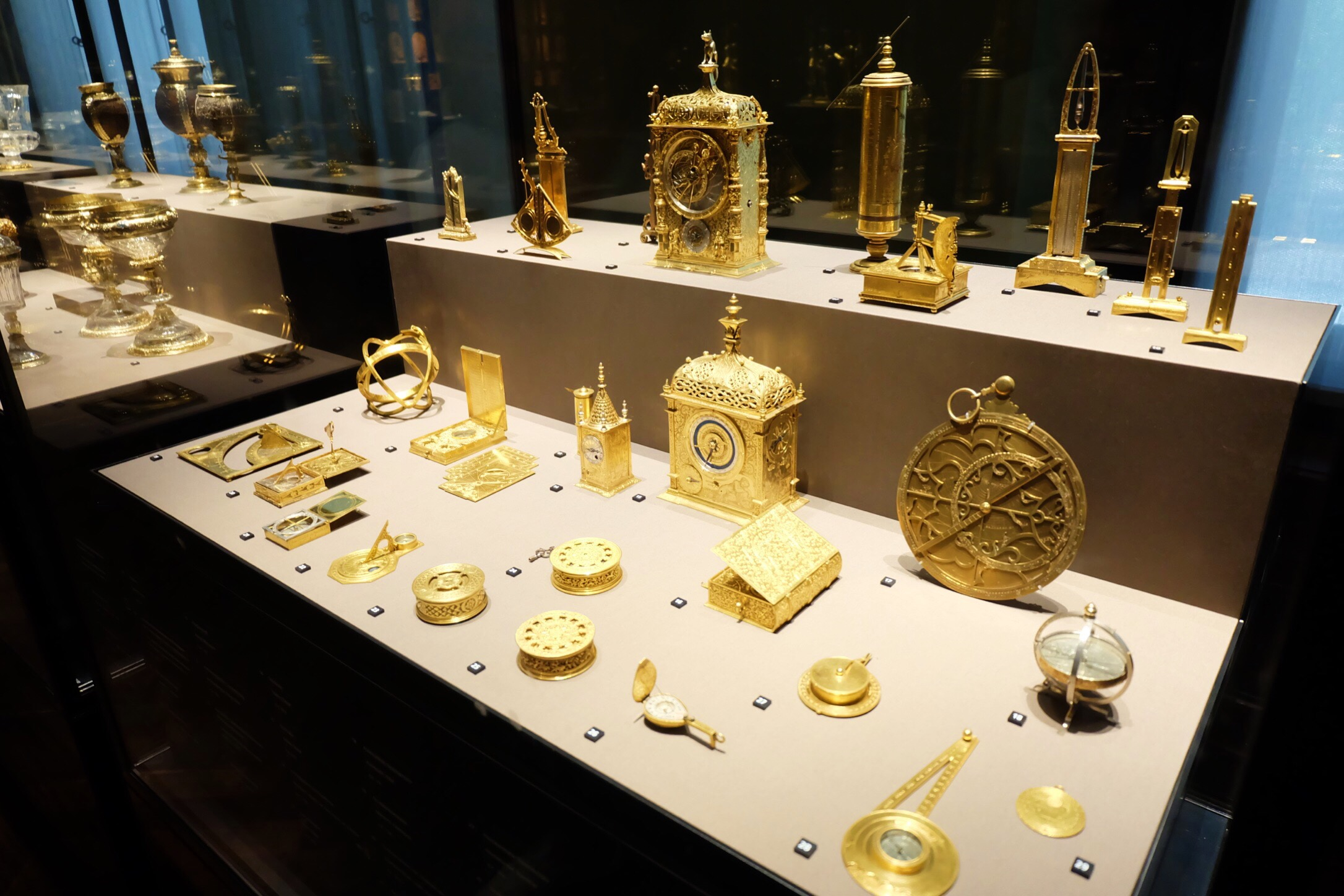 Display at Kunsthistoriches Museum