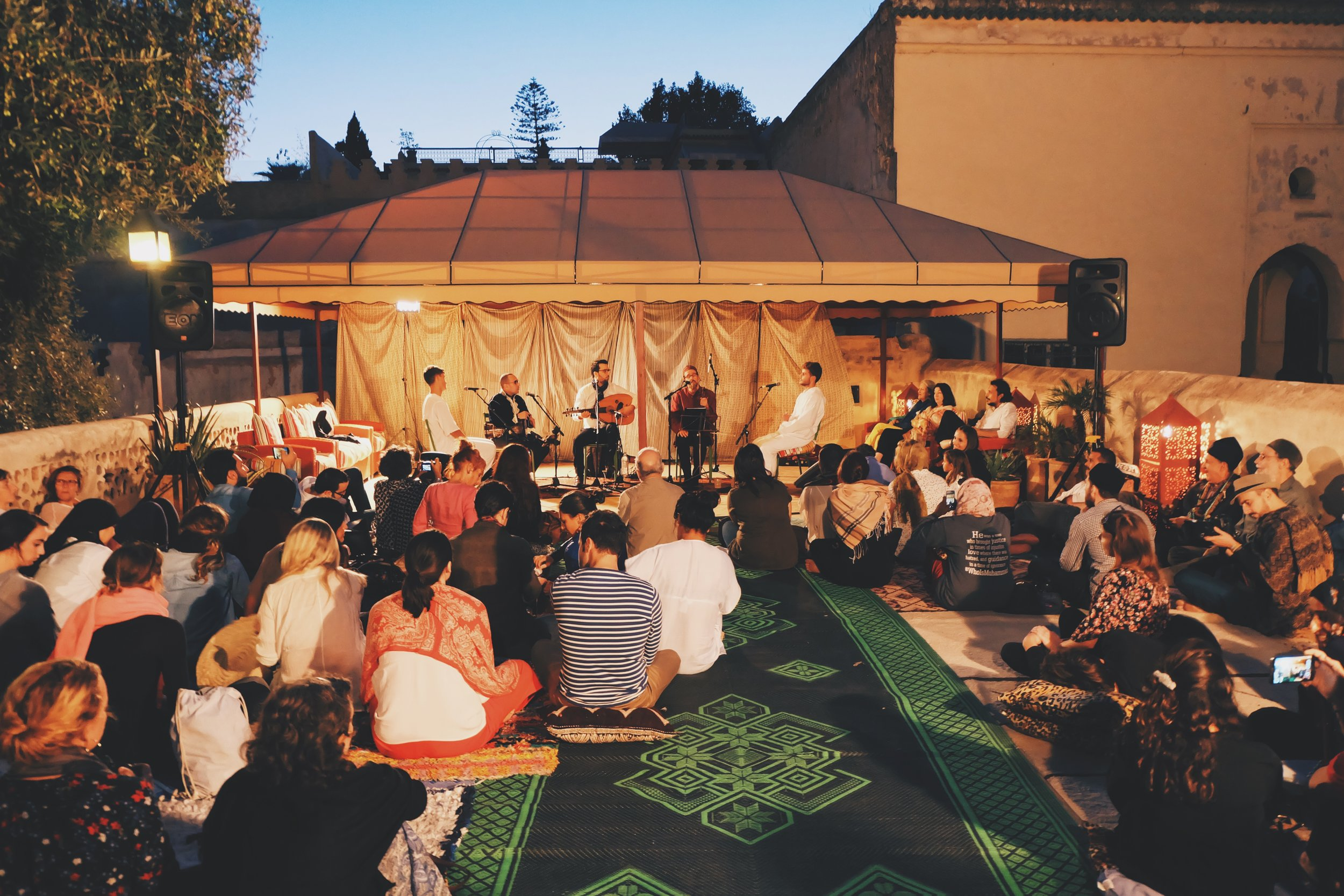 Sufi Concert at the Fez Cafe