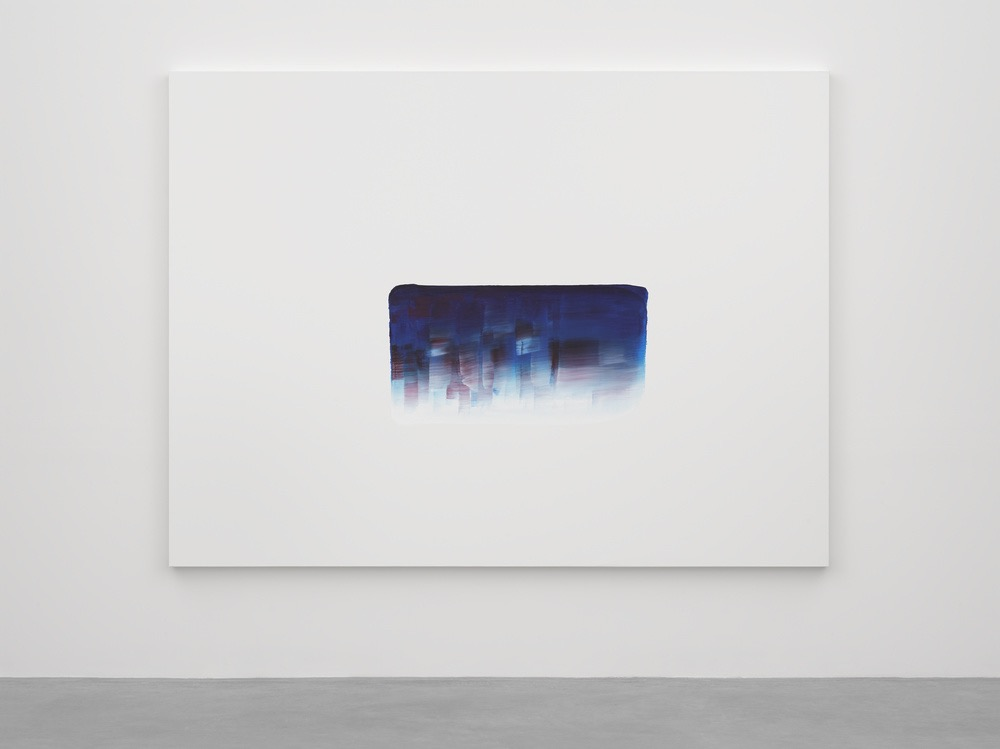 Lee Ufan Dialogue (2016), courtesy of the Lisson Gallery