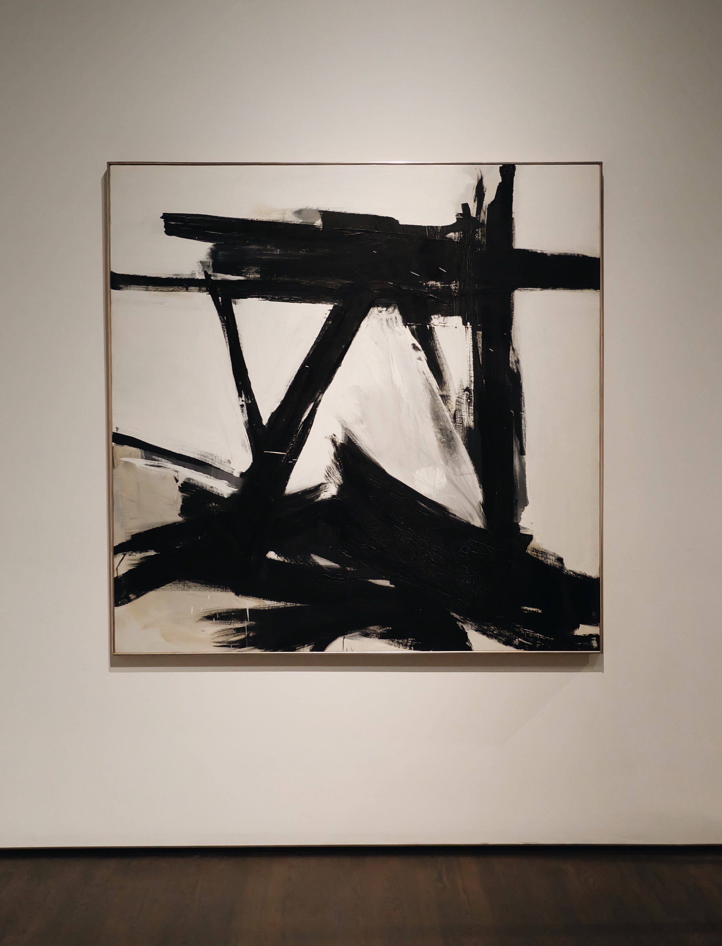 Franz Kline, The Ballatine, 1958-60 at LACMA