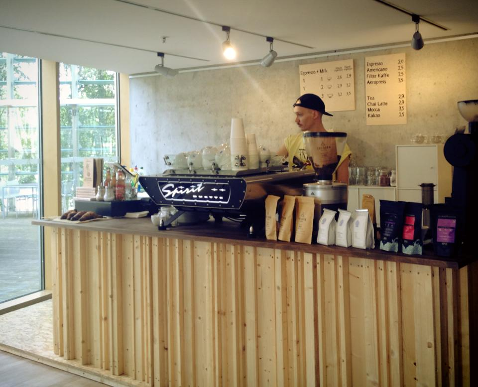 Oslo Kaffebar EMbassies pop-up