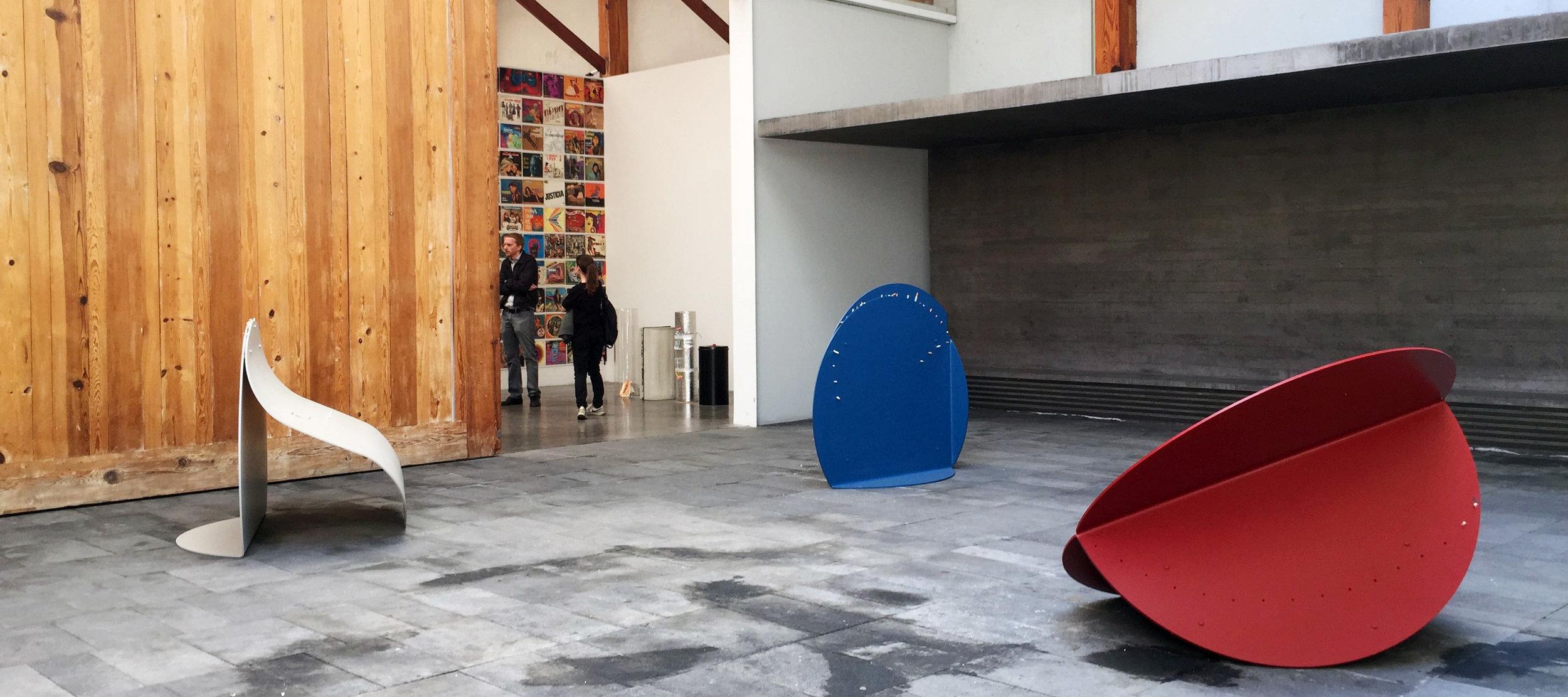 et deux galeries d'art contemporain, parmi les plus importantes de Mexico City et à la renommée internationale.