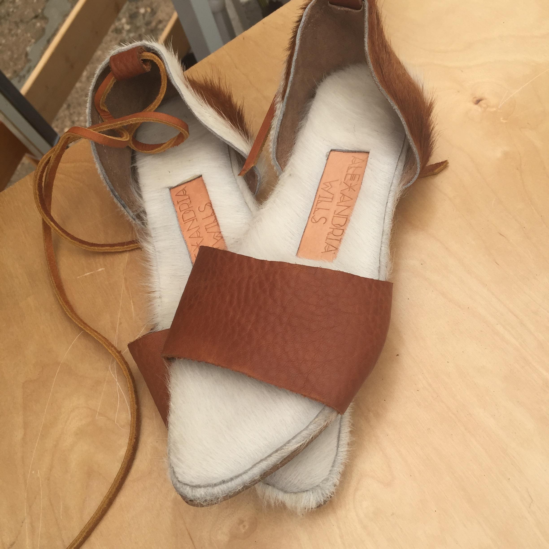 Sandals by  Alexandria Willis