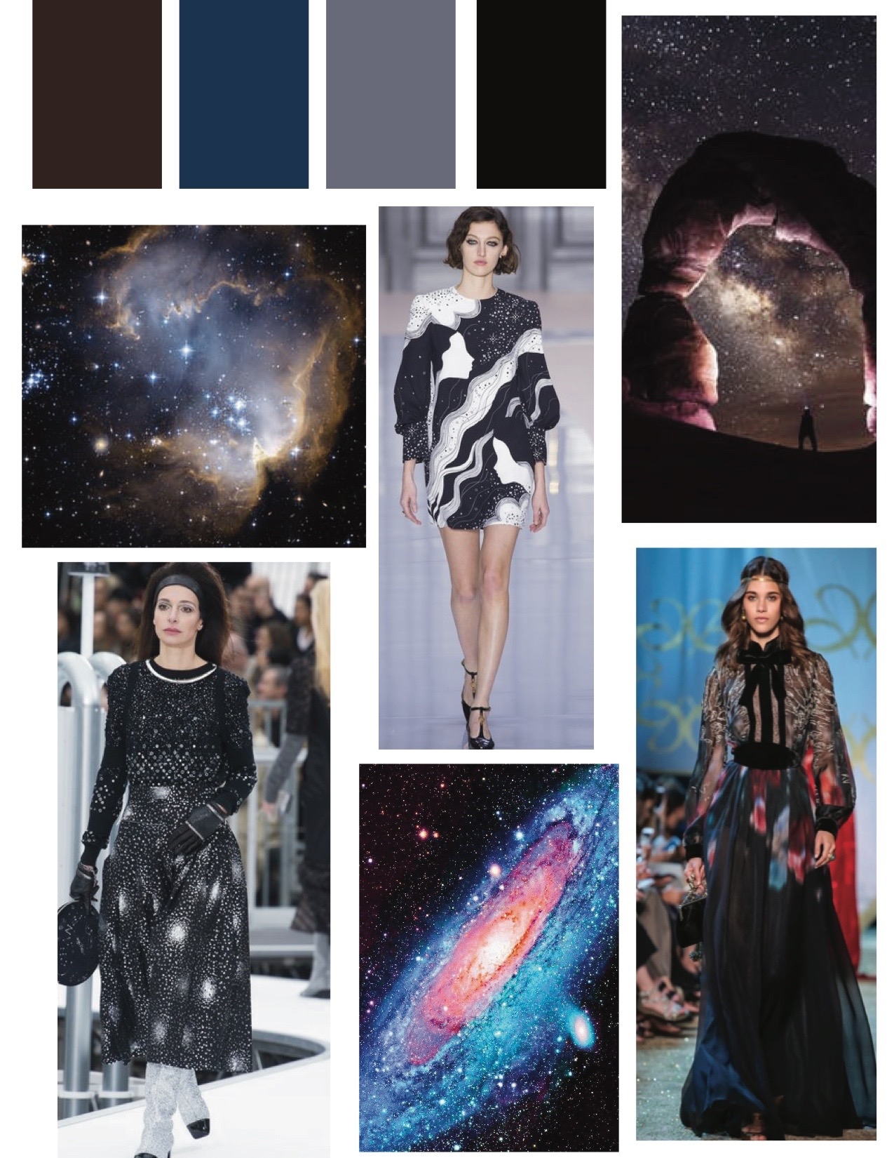 Designers featured:  Chanel ,  Chloé ,  Elie Saab
