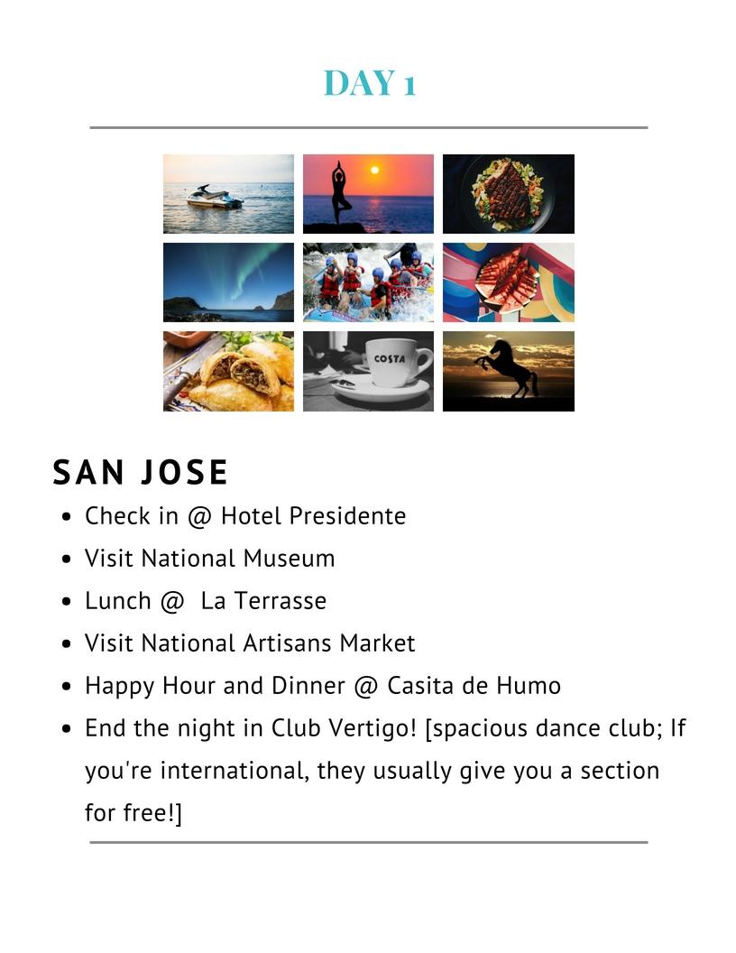 Hotel Presidente    National Museum    Casita de Humo    Club Vertigo