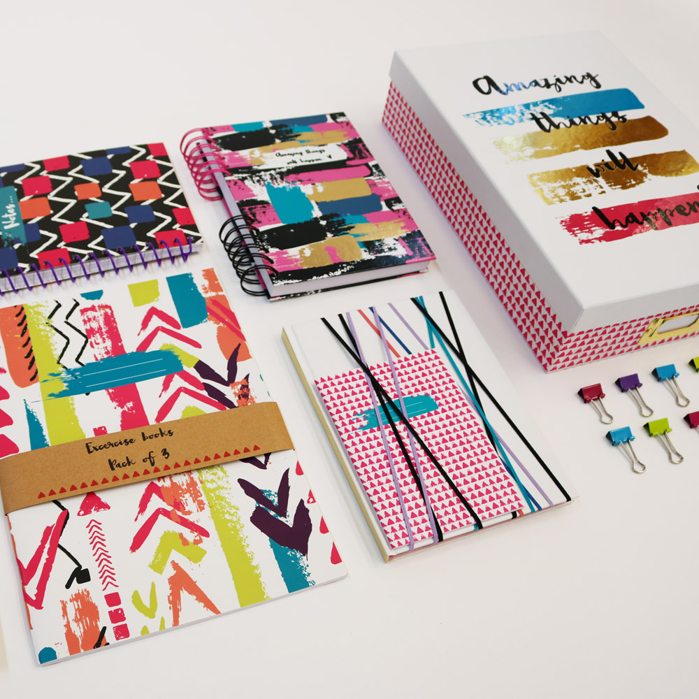 Tribes stationery collection for Wilko