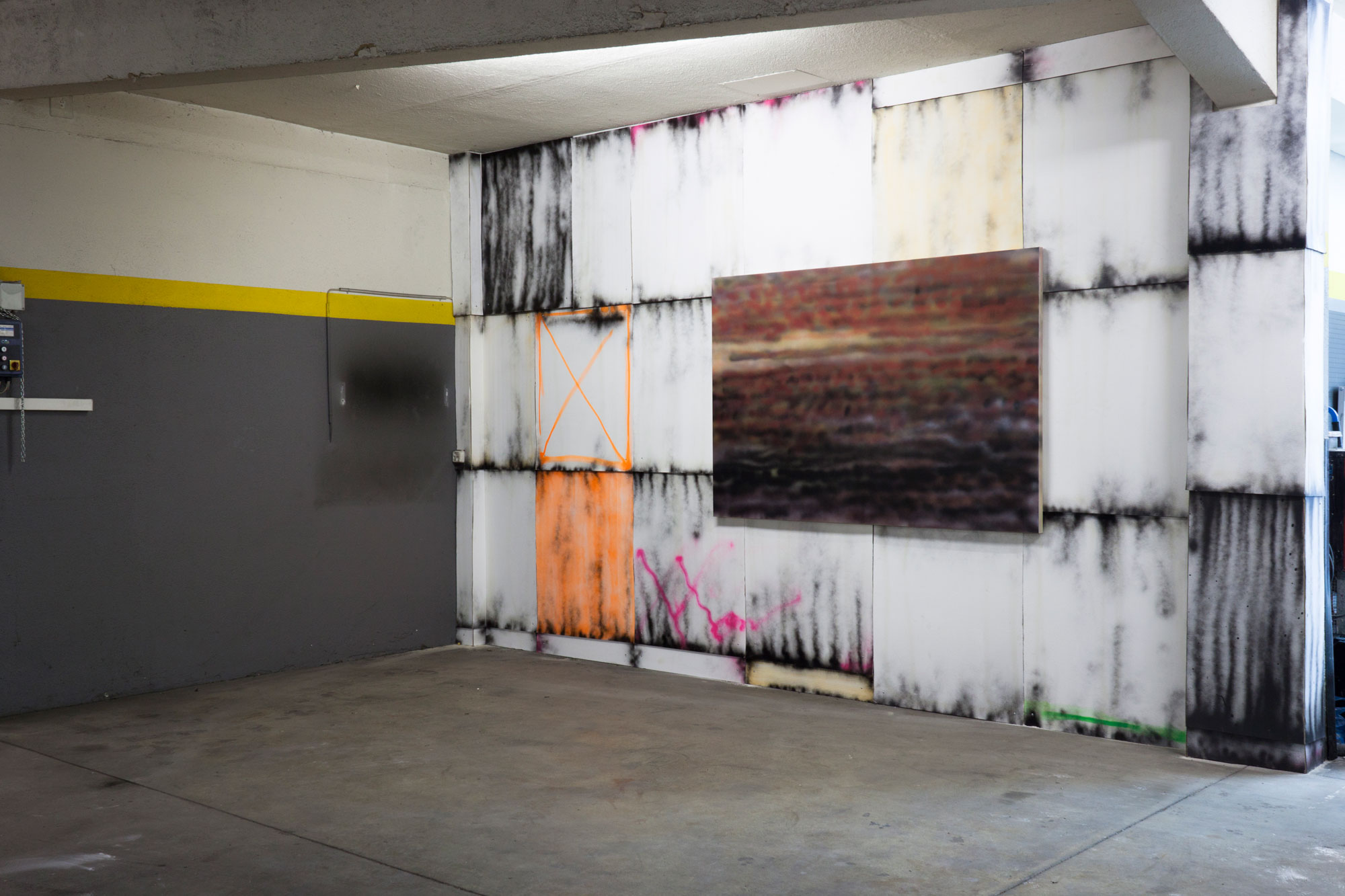 Installation view, Drive the Change, 100plus, Zürich, March 20 - 24., 2014