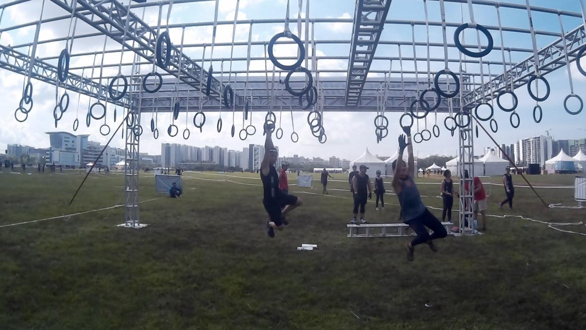 Monkey swing that actually swings.
