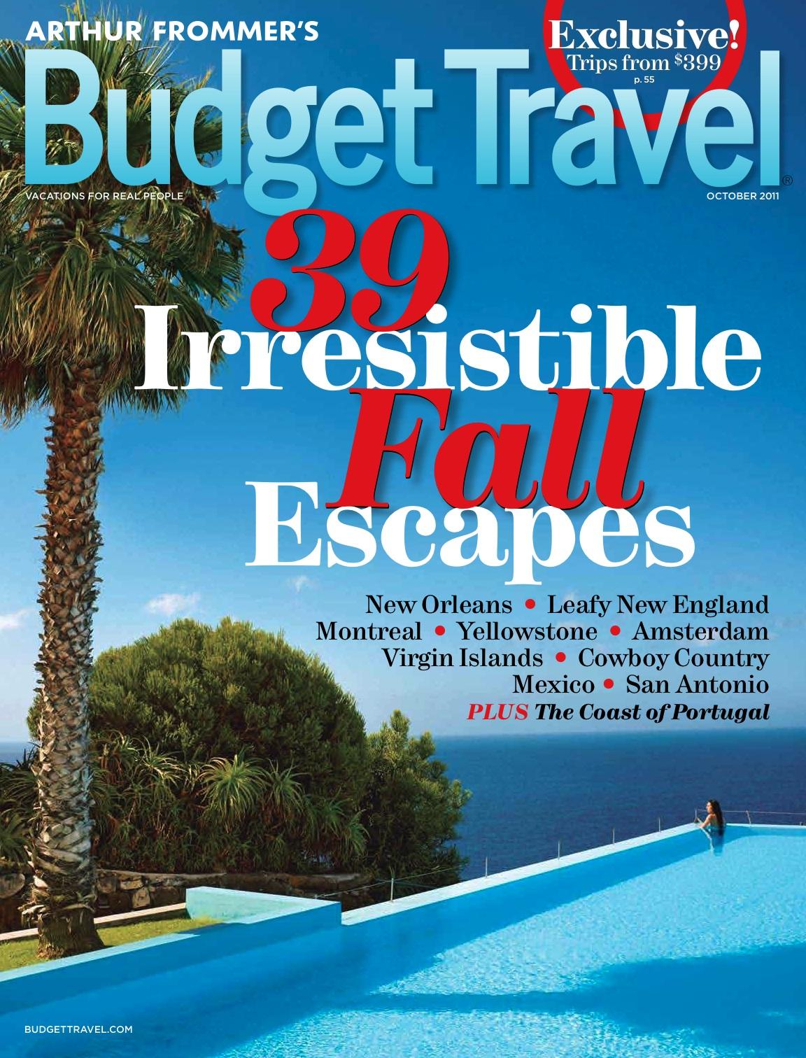 Budget Travel Magazine Anexa Wild