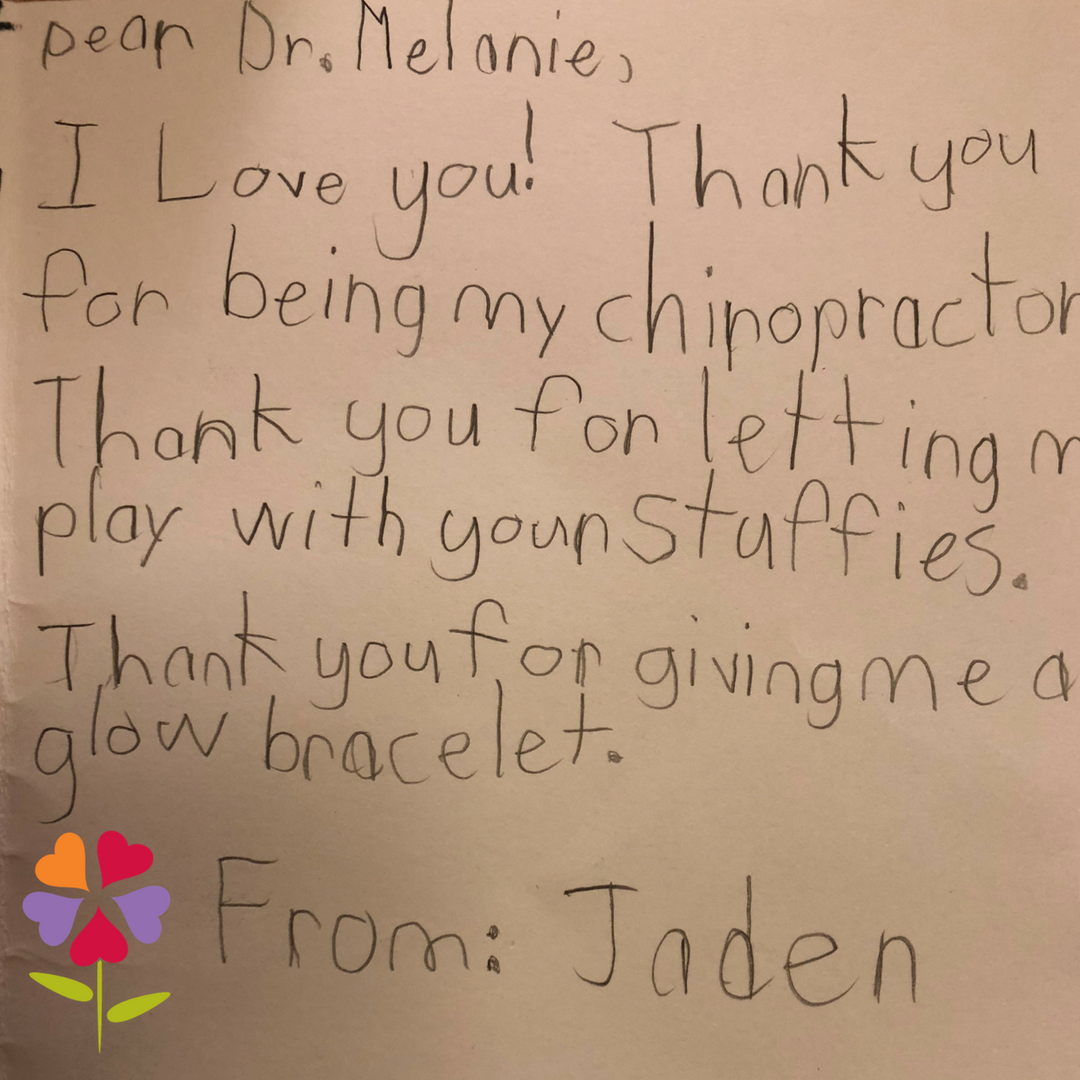 I just love what I do, and helping kids especially is the best part of my day -