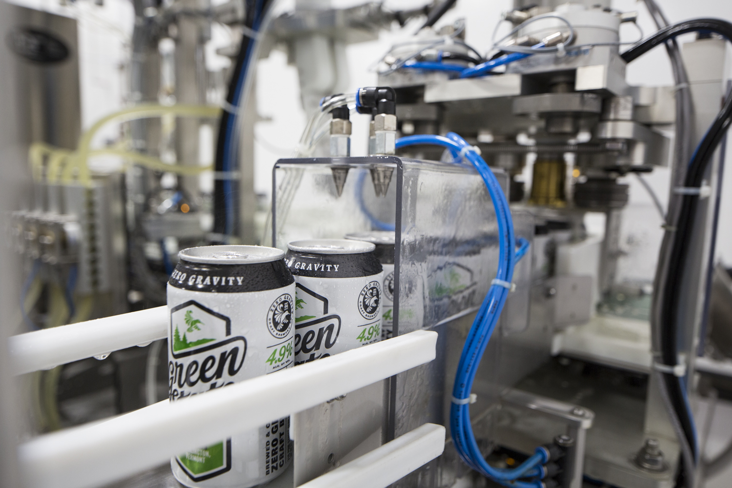 Canning Green State Lager.