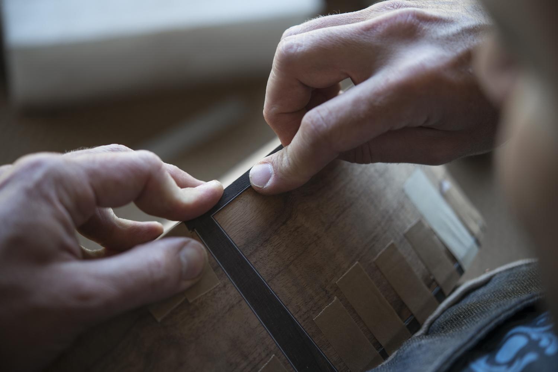 Precision of the craftsman.