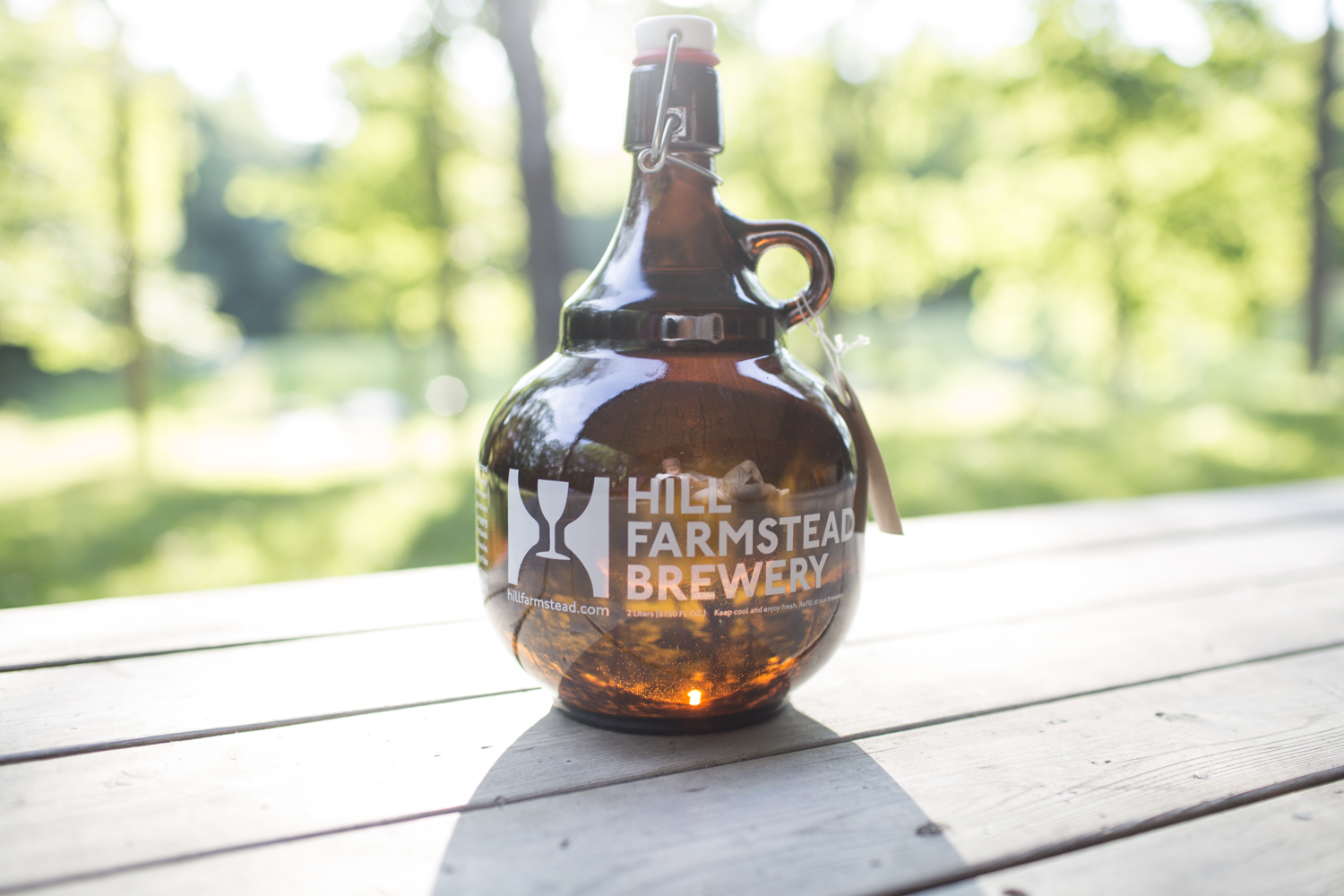 Hill Farmstead Growler