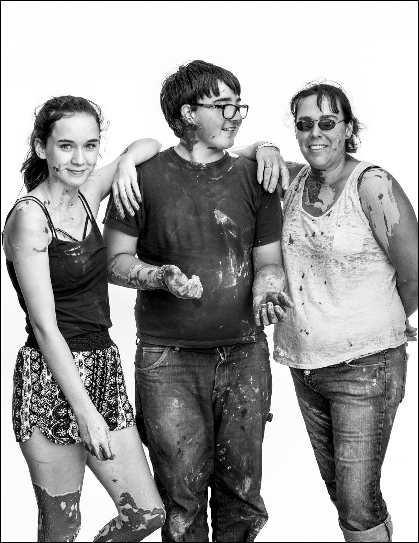 Brianna Spalding, David Sawyer and Amanda Spalding