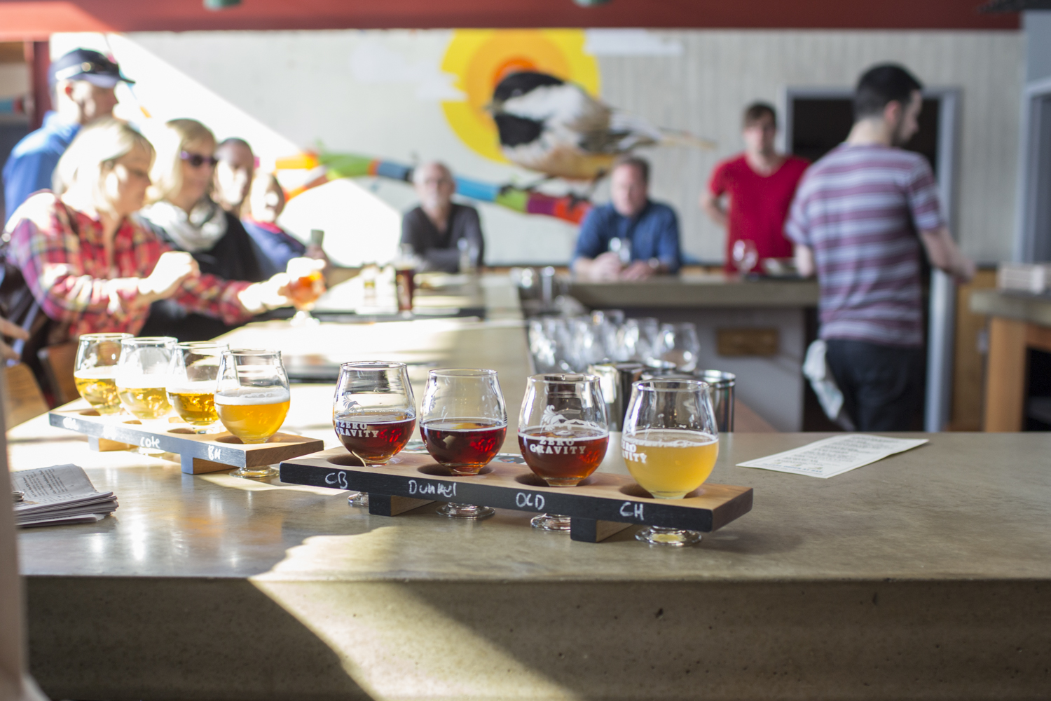 Zero Gravity's  tasting room on Pine Street. Pic. by Dylan Griffin