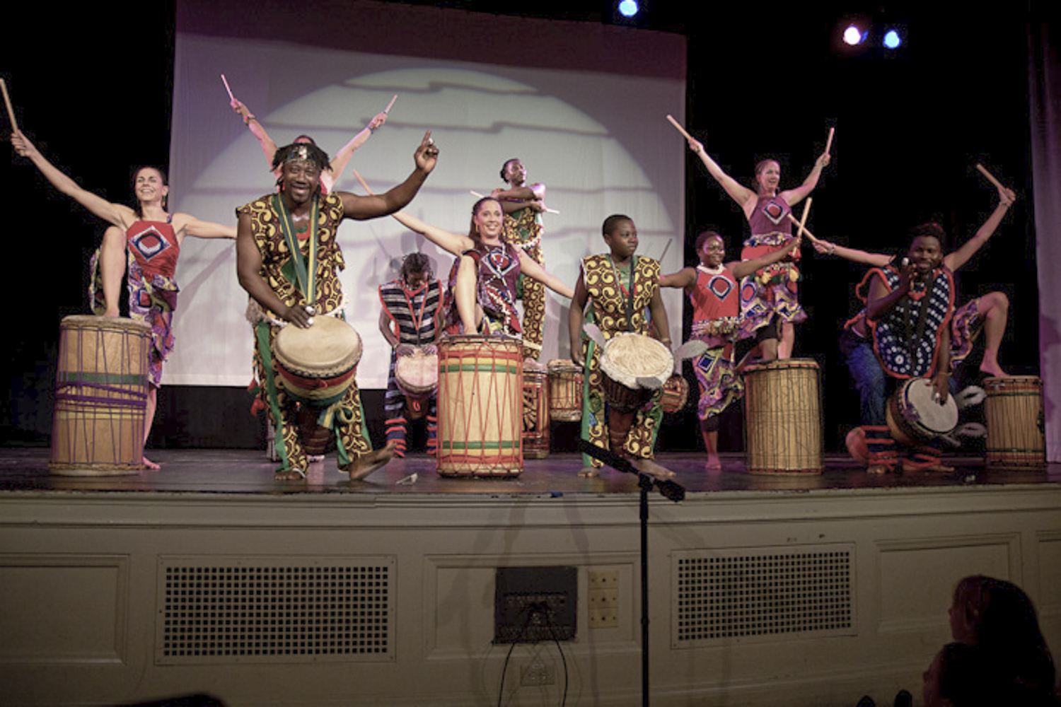 West African drum and dance conference Image by, Jean Luc Dushime