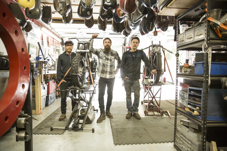 Caleb, Josh and Chris