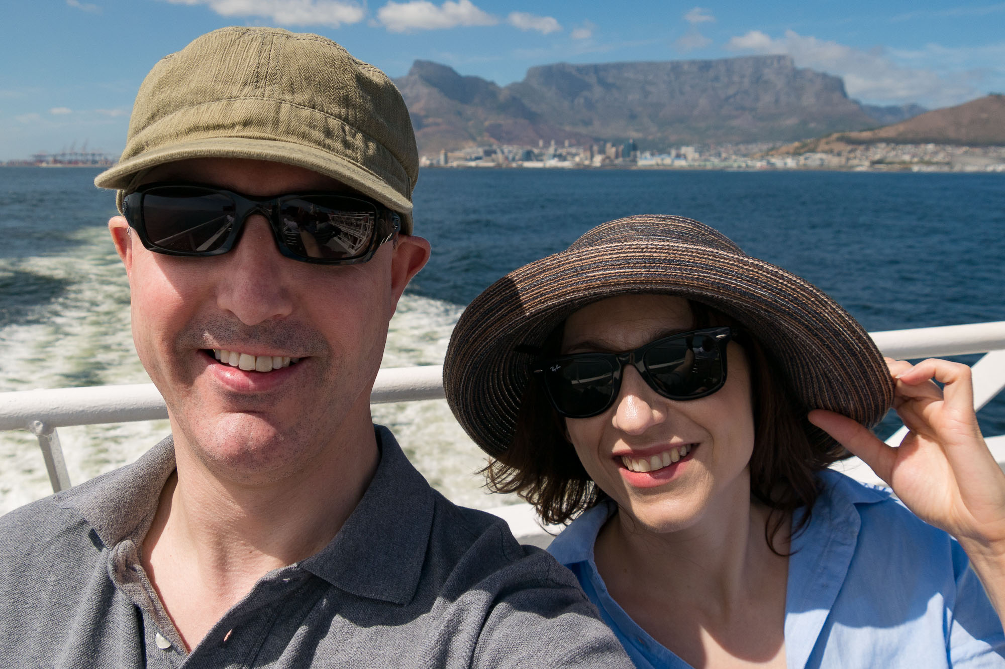 """""""Selfie"""" mode in action in Cape Town"""