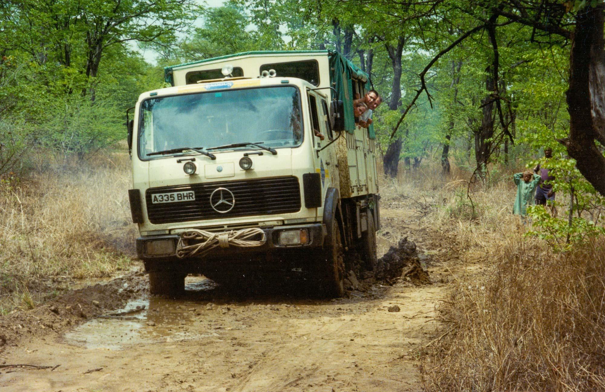 """Stuck in the mud"", Zambia"