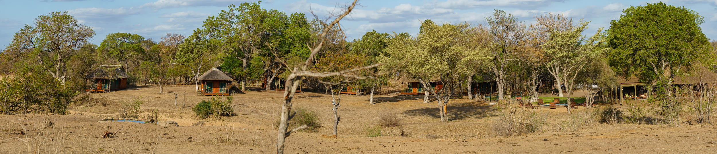 Panorama of Shindzela Tented Camp