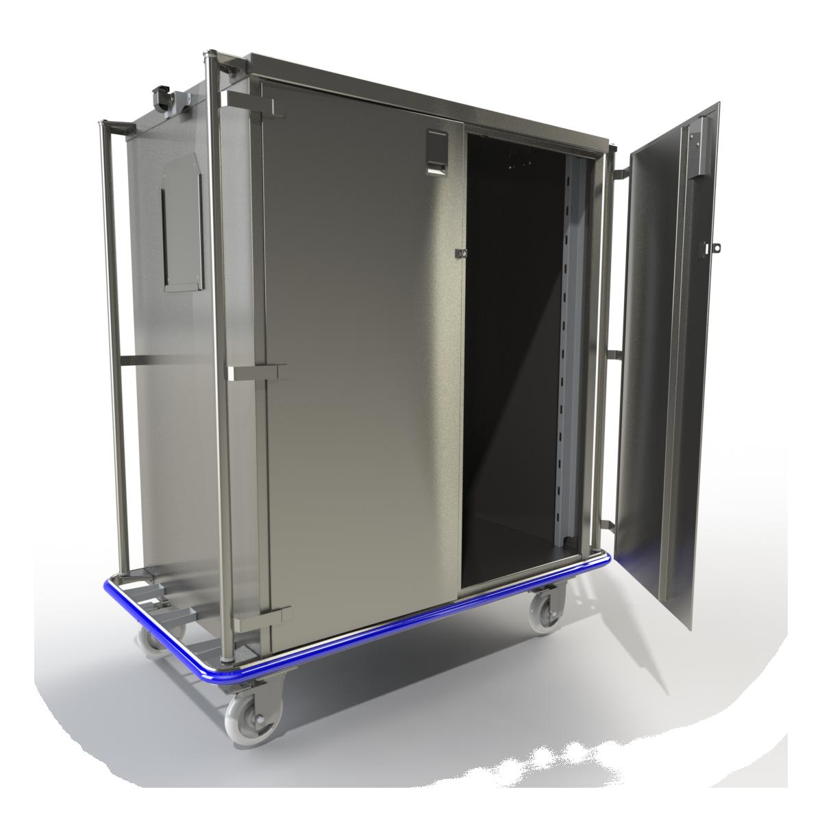 Vertical Handle Case Carts