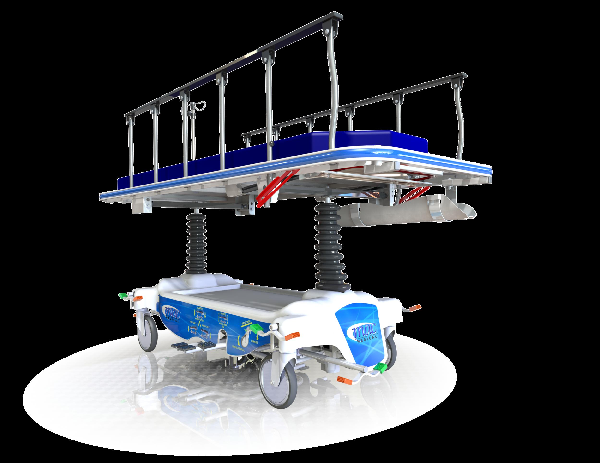 5th Wheel Transport Stretcher (PTF-1000)