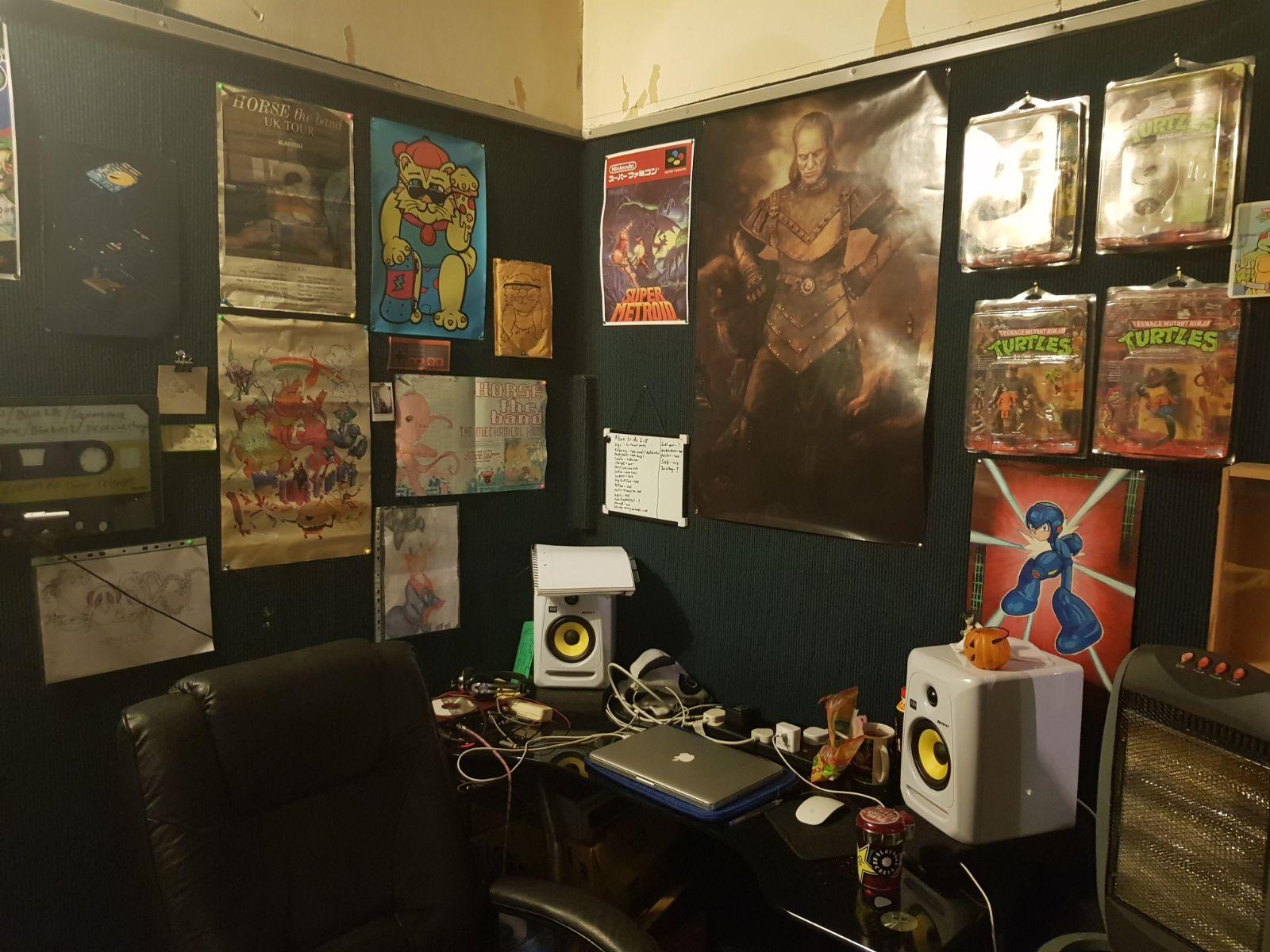 Vigo oversees the creativity process in its entirety at ICFC studios, Aberdeen