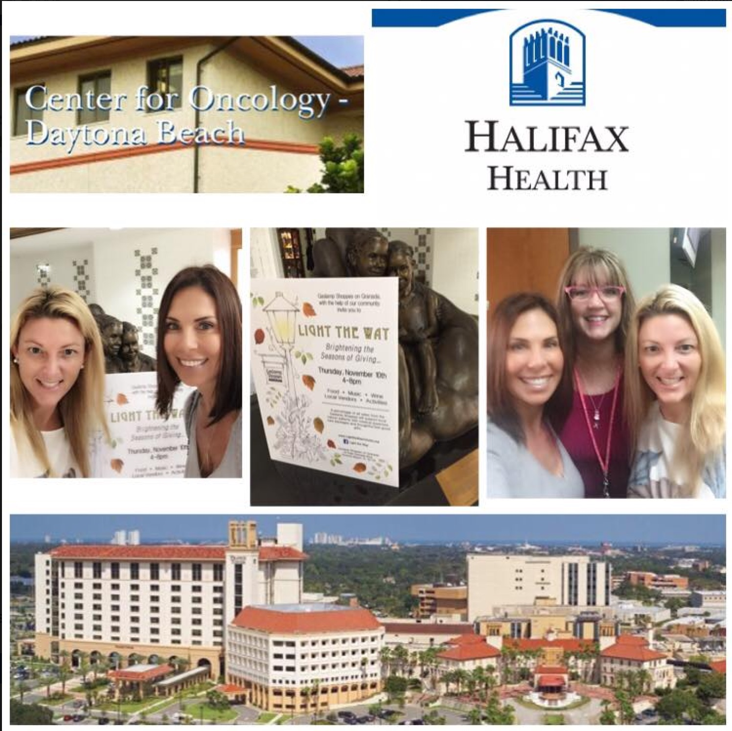 Introduced LTW to oncology medical staff at Halifax. Getting the word out, daily! ✨Thank you, Jennifer for making this happen! Lighting the way, together✨