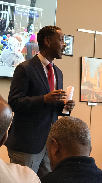 Minneapolis City Council Council Member Abdi Warsame