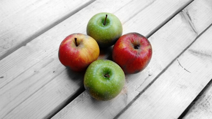 Four apples or a potential bottle of Craft Cider with a champagne like smell and a sweet yet sour finish?
