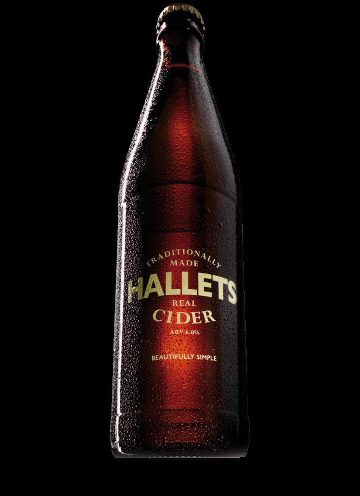 Hallets Real Cider