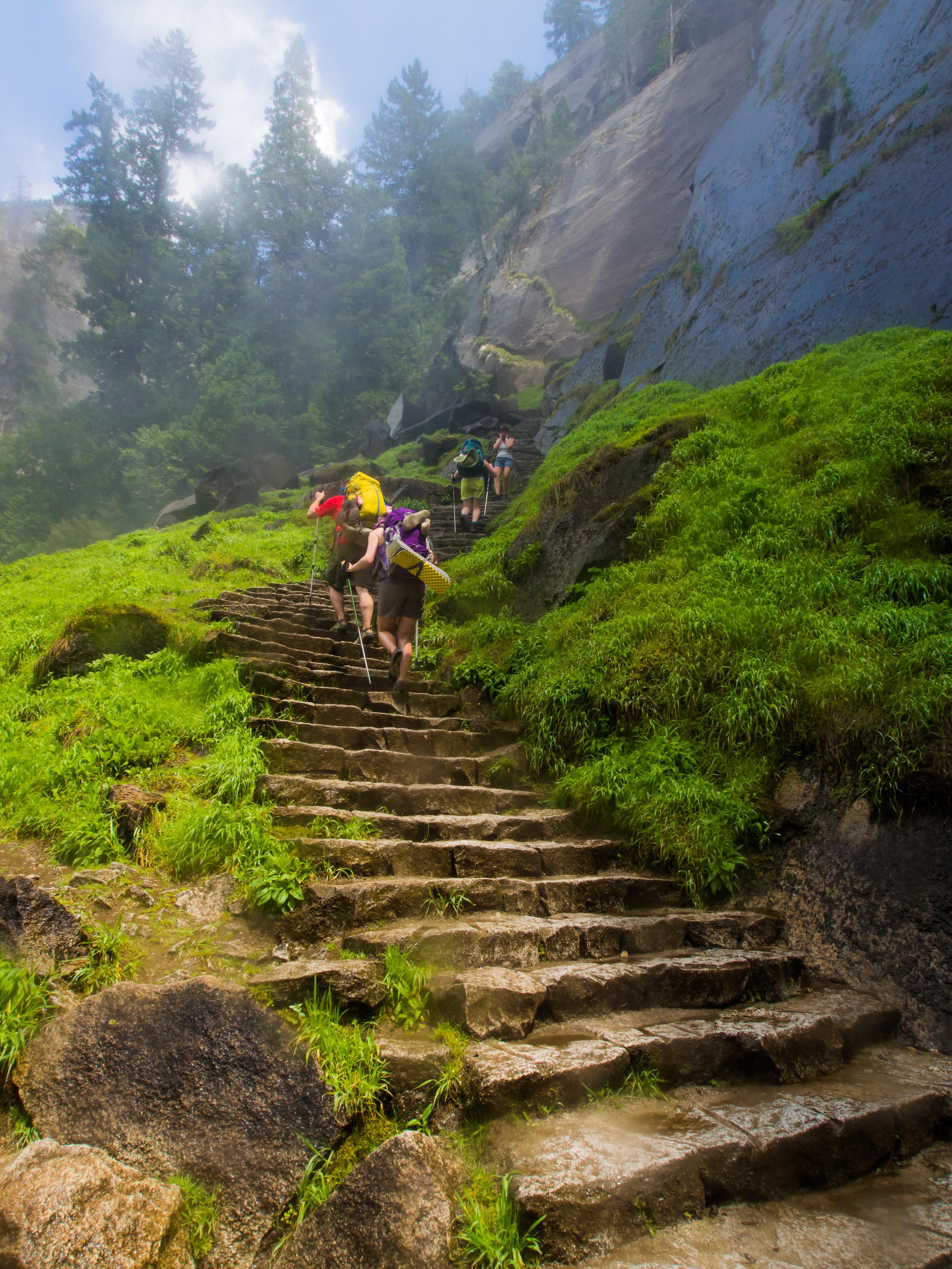 The Mist Trail