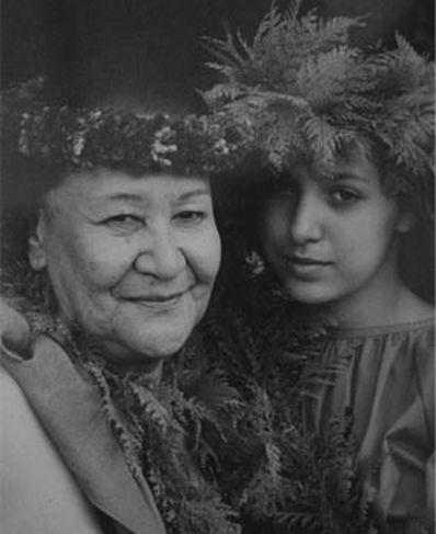 Maelia Loebenstein Carter Kumu Hula Hawaii Kaimuki