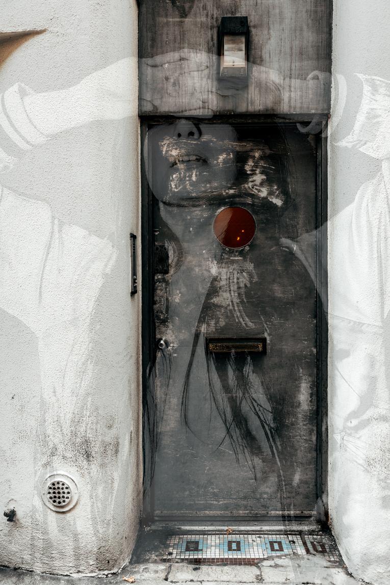 Door Wide Shut, 2018. Edition of 6.