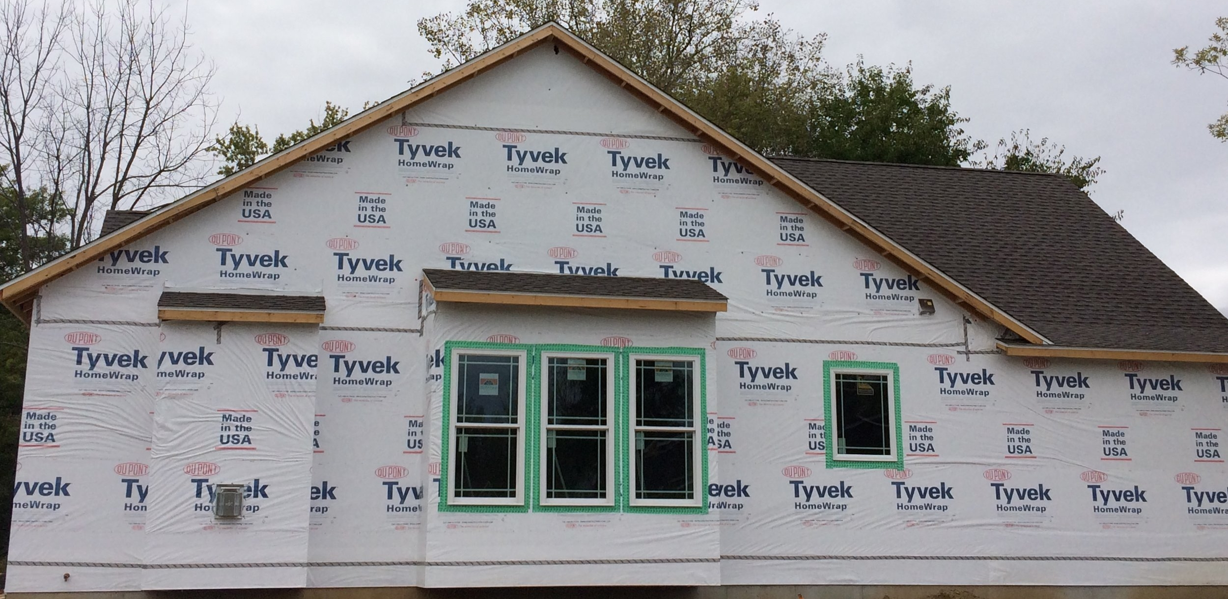 Tyvek Home Wrap - Tyvek helps prevent the infiltration of air and water, but lets water vapor escape to prevent rot and mold inside walls. There is no substitute. Tyvek performs like no other house wrap on the market.