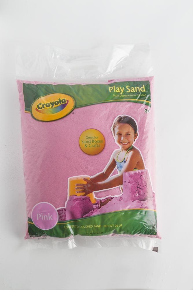 Pink Crayola Play Sand