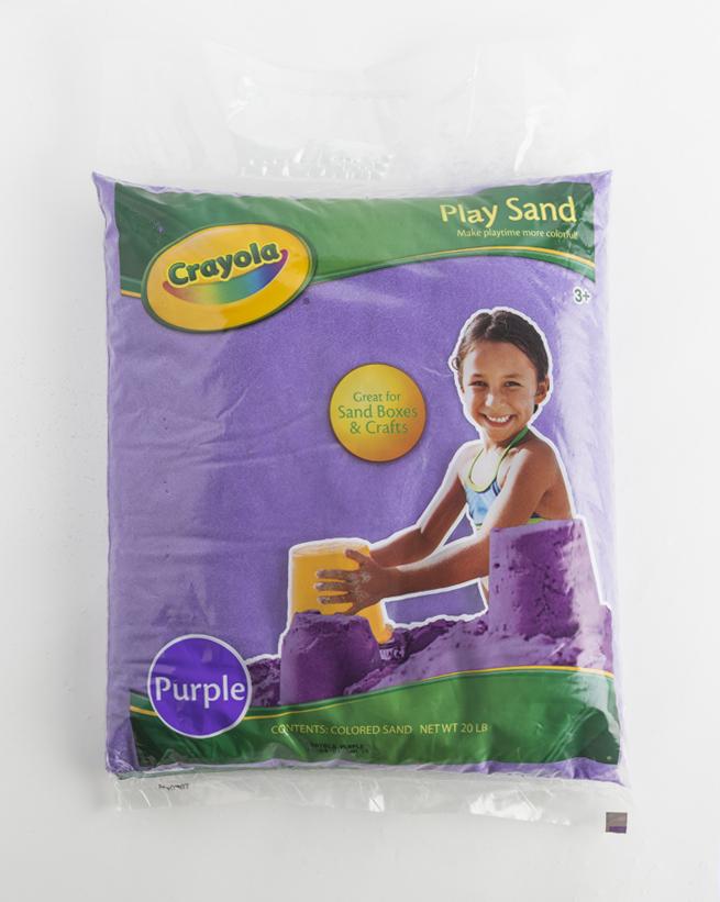 Purple Crayola Play Sand