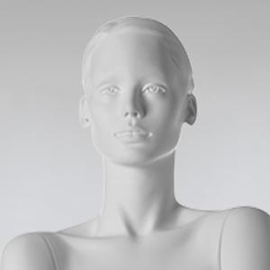 SCULPTED HEAD WOMEN