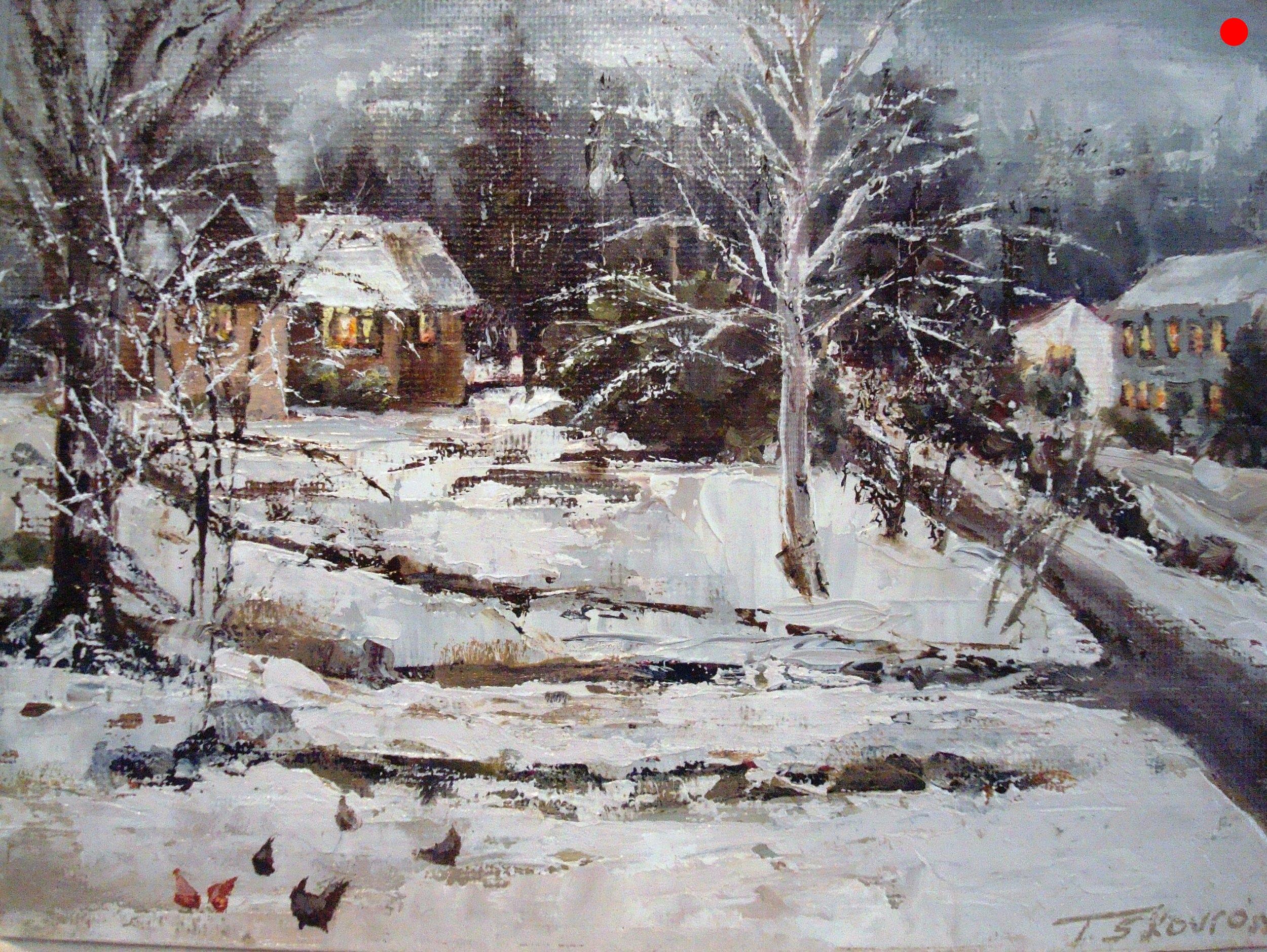 Winter Twilight -  Goulds Hill, Newton, NH