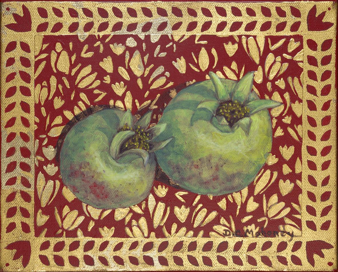 Illuminated Pomegranate