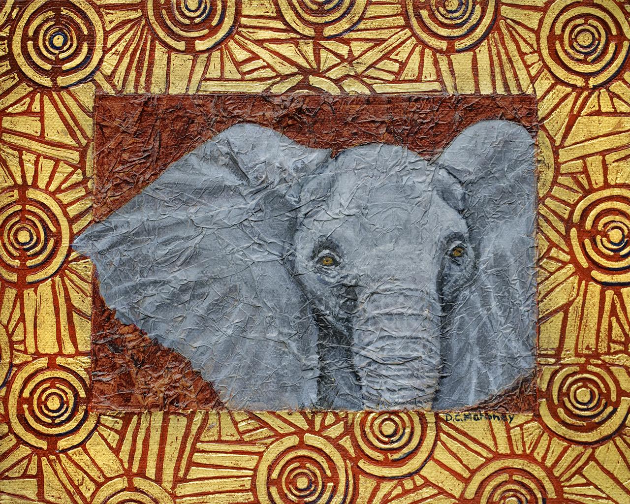 Illuminated Elephant