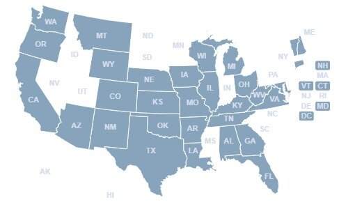 States That Have Enacted Some Type of COVID-Related Alcohol Reform