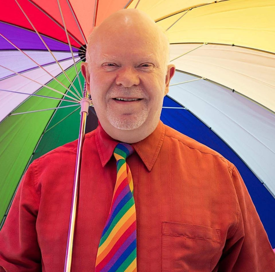 Grand Marshall 2016 Fresno Rainbow Pride march.jpg