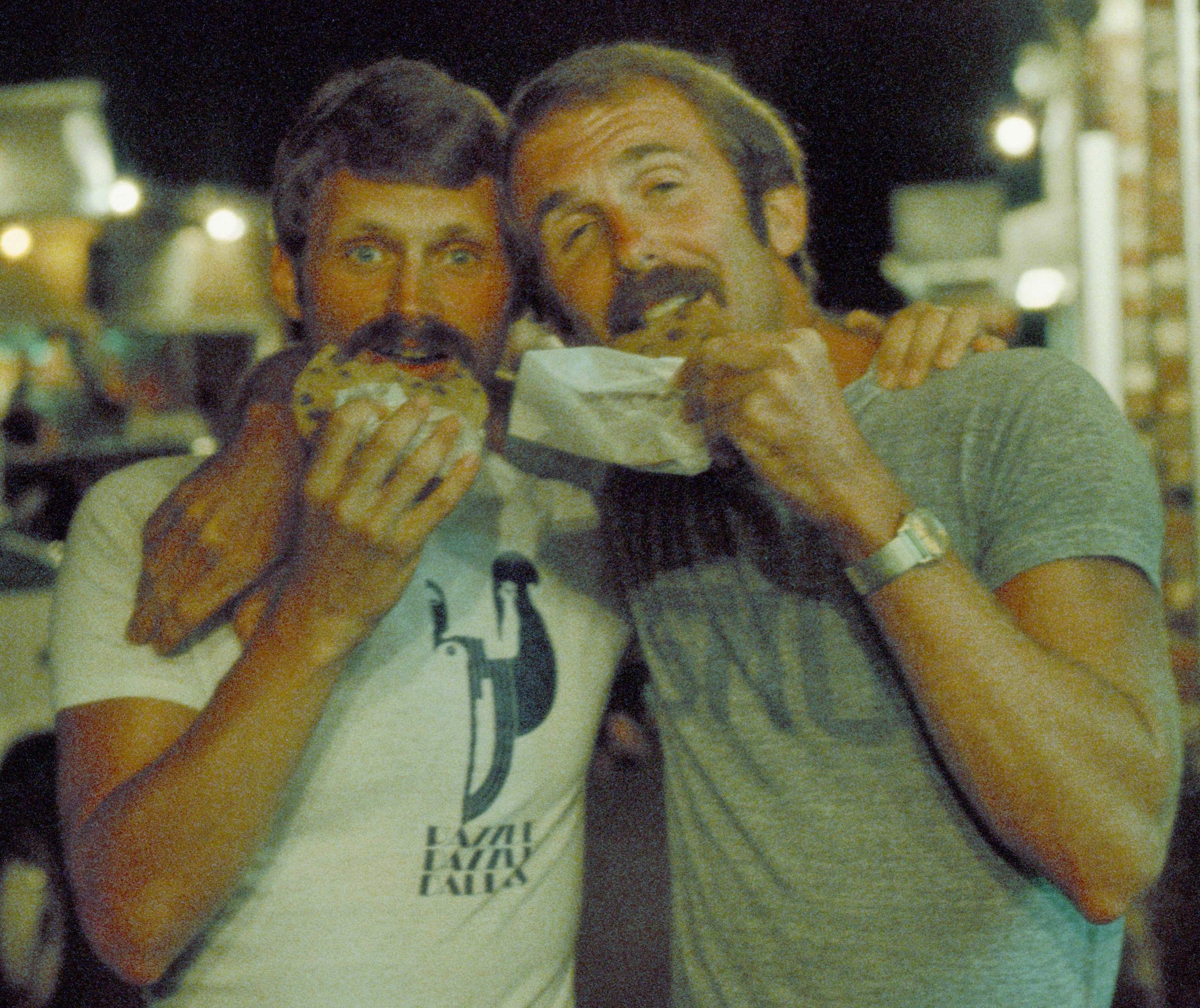 Terry Tebedo and Bill Nelson vacationing in Provincetown, MA.