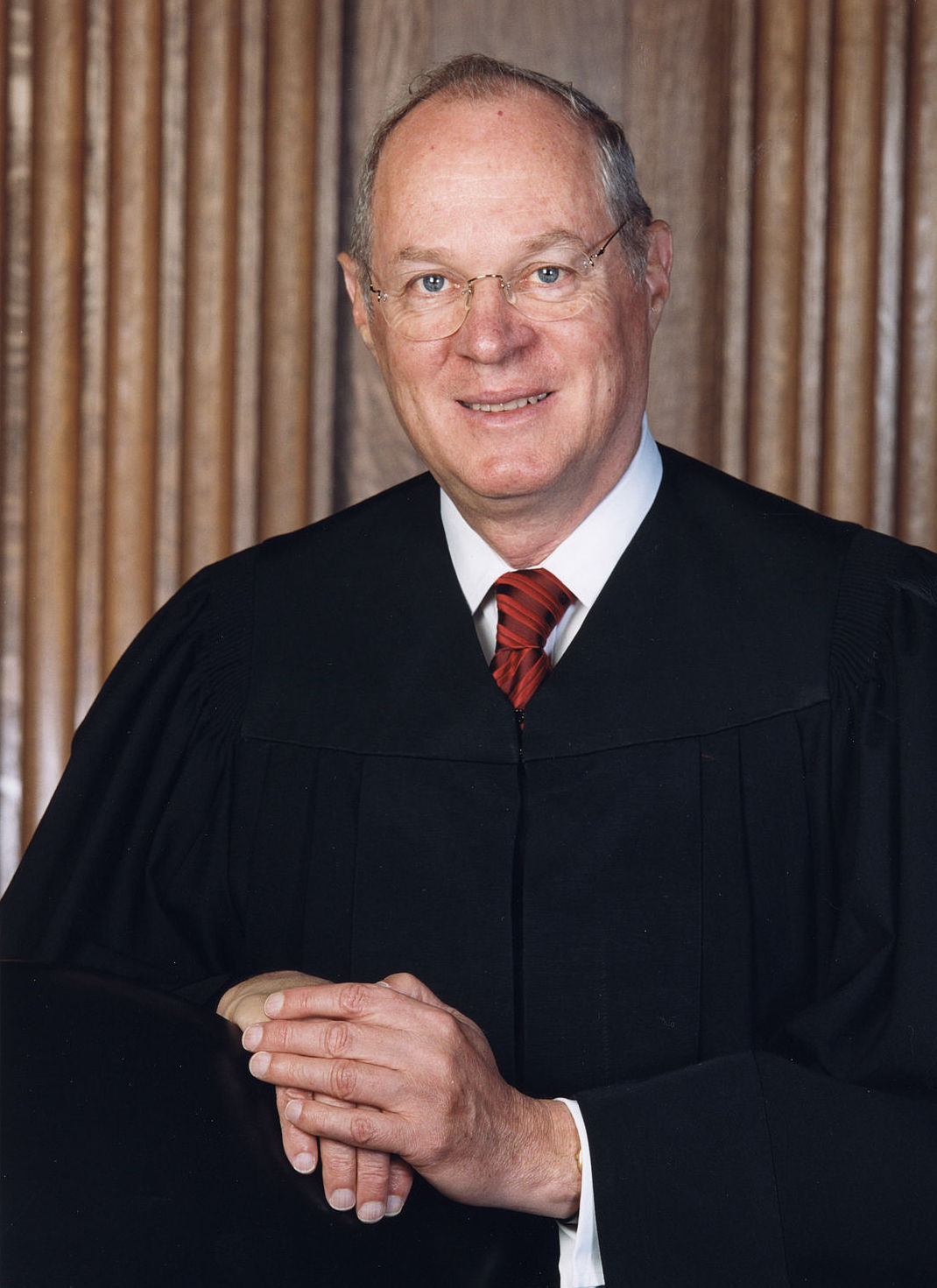 Justice Anthony Kennedy, author of the controlling opinion of the United States Supreme Court in the case of Obergefell v. Hodges