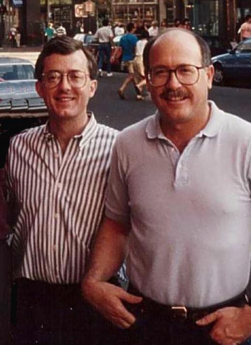 Dick Peeples (left) - - Don Baker (right)