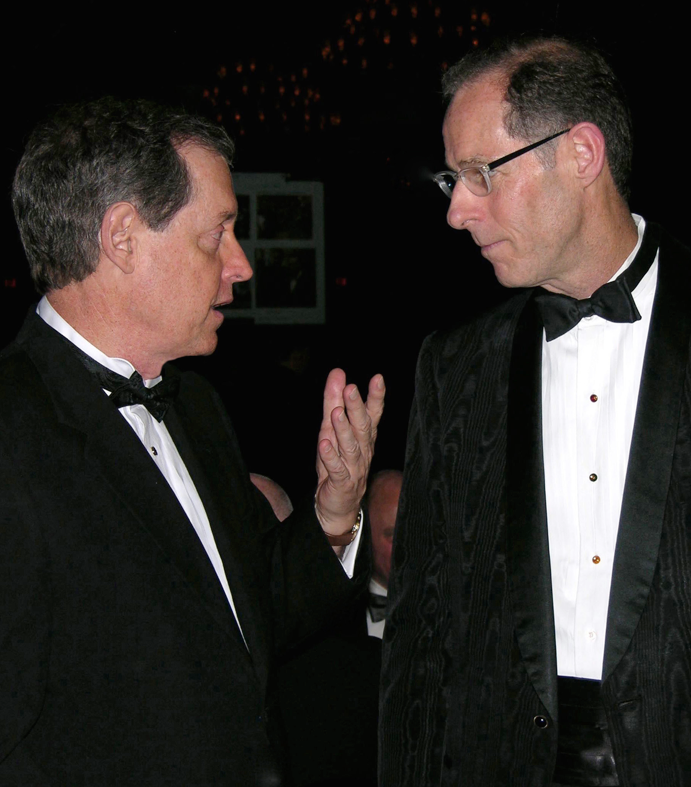 """Two of the """"old soldiers"""" ponder what the future holds for all of the new rights achieved in the federal courts (Mike Anglin, left, and Lee Taft, right)"""