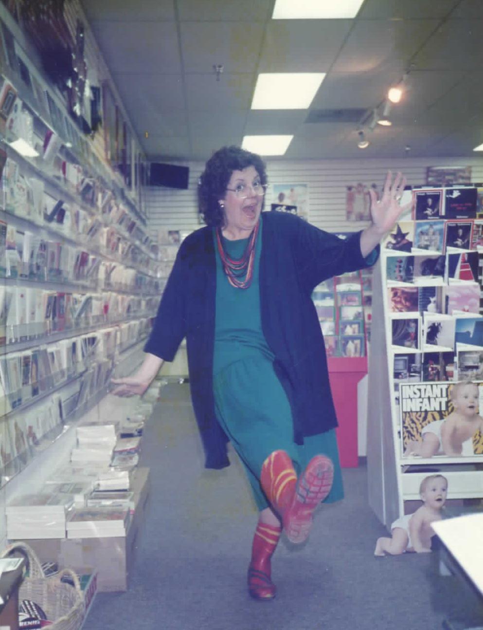 Karen Estes at Crossroads Market